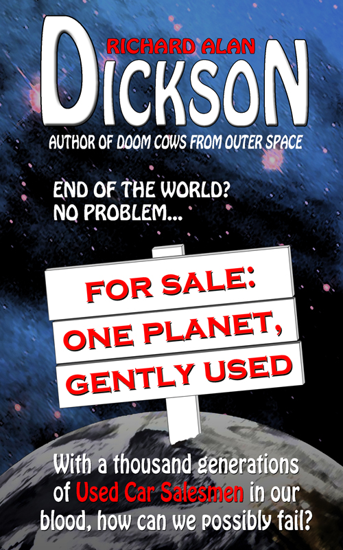 For Sale: One Planet, Gently Used;